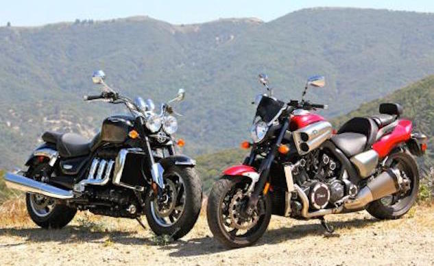 Church of MO: 2010 Triumph Rocket III Roadster Vs. 2010 Star VMax
