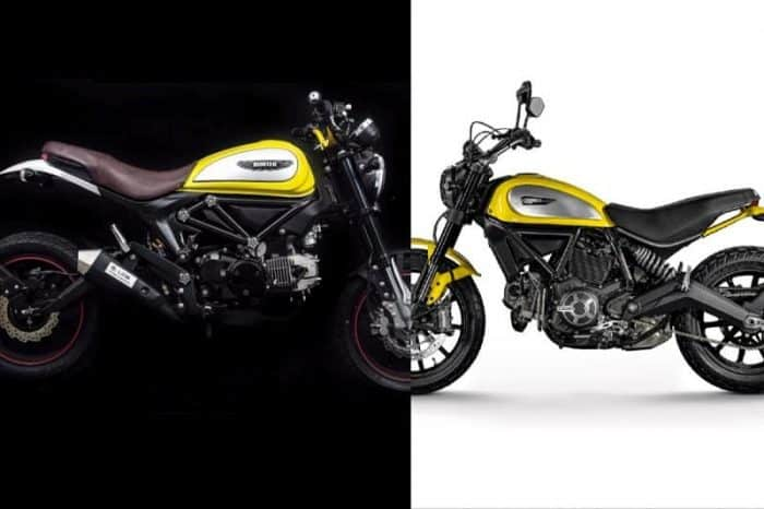 Chinese Motorcycles Lifan Copycat