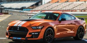Ford Mustang Shelby GT500 Orange Documentos de Ford filtrados revelan detalles del paquete de fibra de carbono Shelby GT500, colores y Mach 1