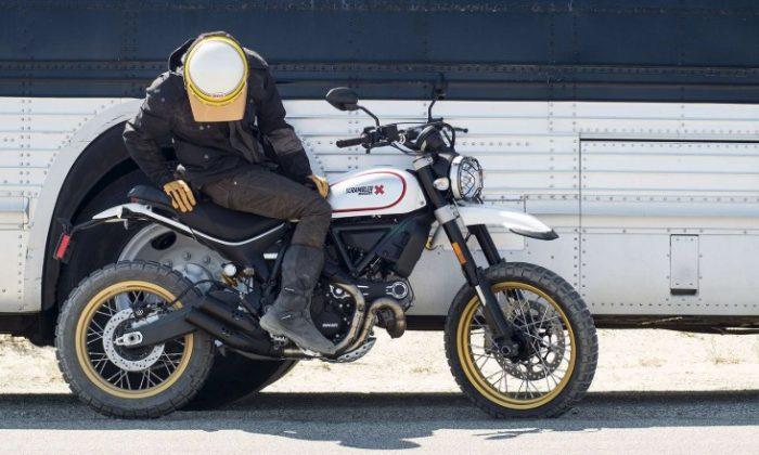 Scrambler Ducati Desert Sled