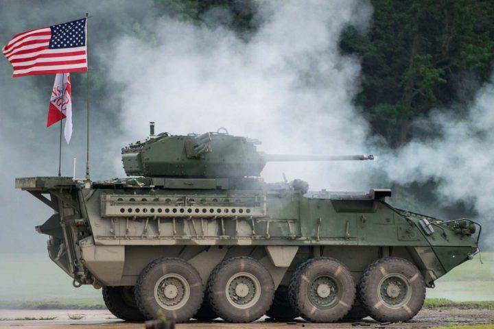 Vehículo de combate M1126 Stryker