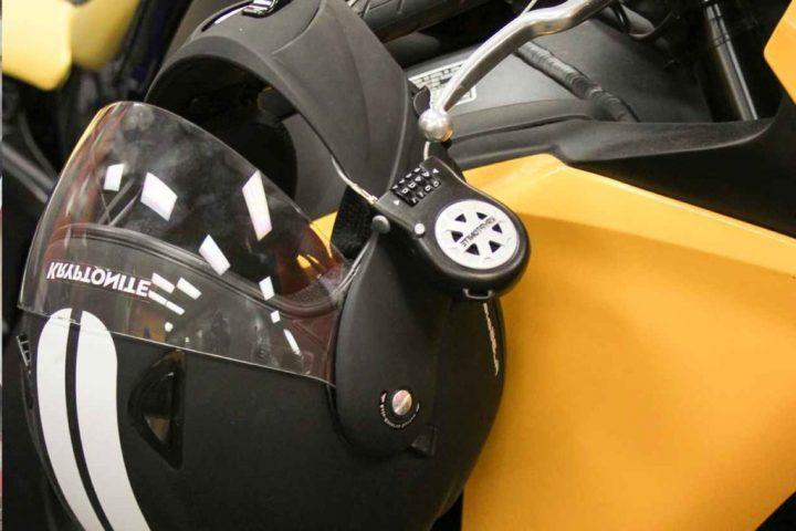 helmet on a bike scaled