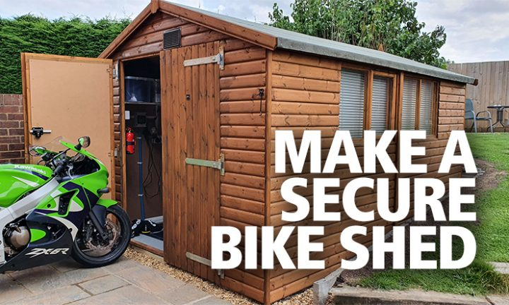 motorcycle insurance definition garage shed secure