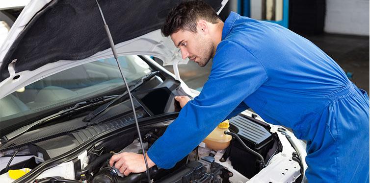 Motor de reparación mecánica