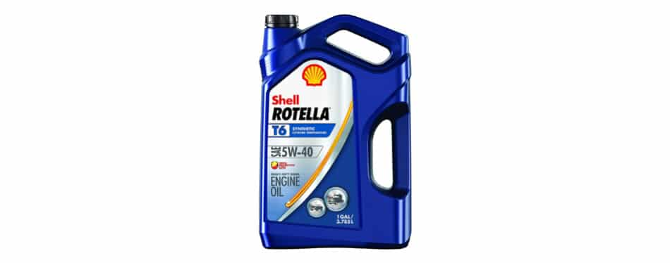 Shell Rotella T motor sintético Oi