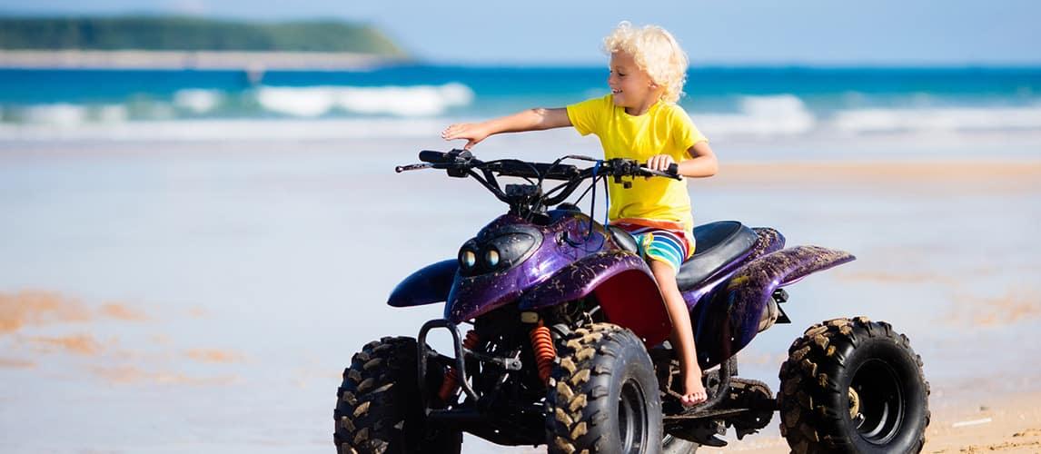 El mejor ATV para niños (revisión) en 2020