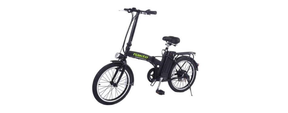 Bicicleta eléctrica NAKTO