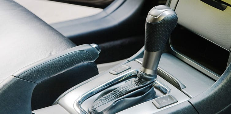 Automatic gearshift handle