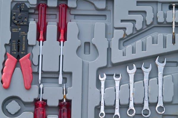 Cómo identificar cajas de herramientas a presión