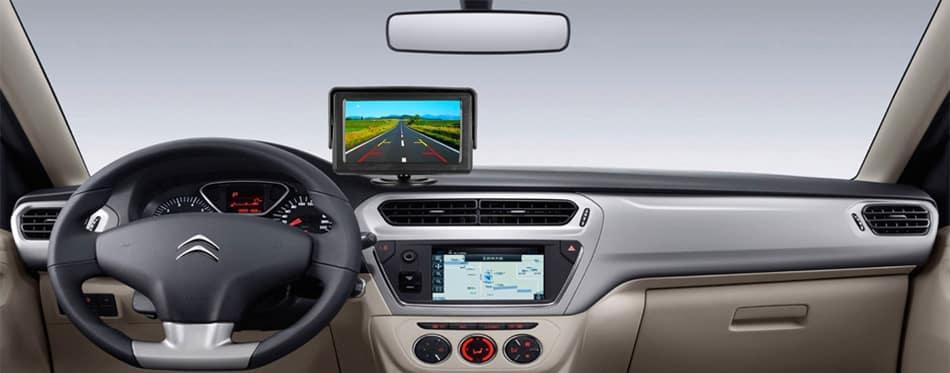 cámara de respaldo del coche