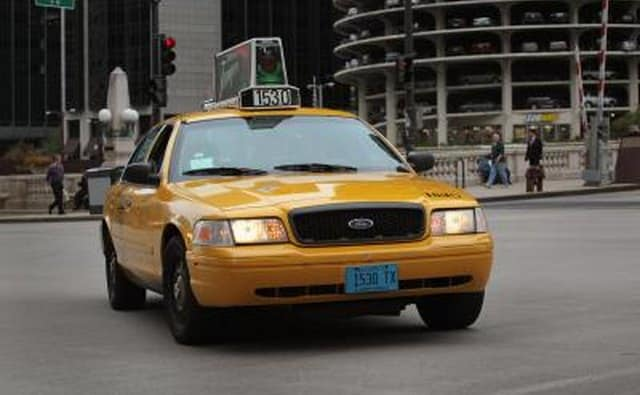 Ford Crown Victoria used as a taxi