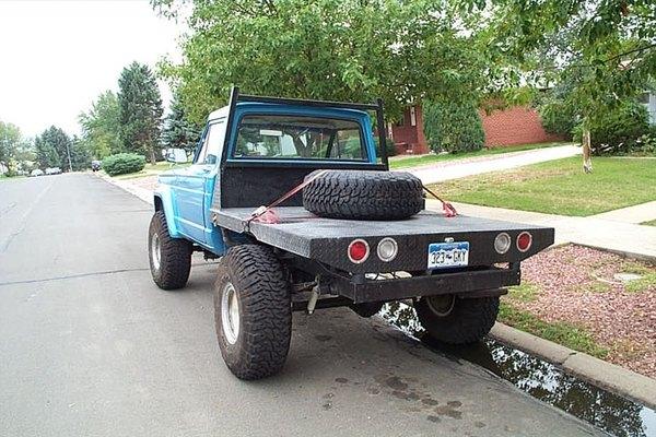 Cómo construir una plataforma plana para camioneta pickup