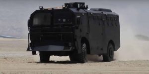 IAG Anti Riot Armored Truck in action