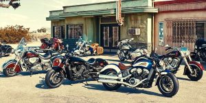 Indian Motorcycle Company line up Motorbike rides classic