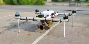 drone with bomb