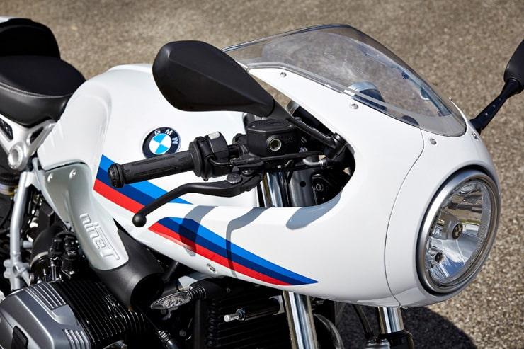 BMW 2017 R NINET RACER, CONO DE NARIZ Y FARO