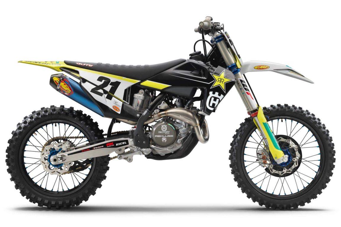 1609028675 2021 Husqvarna FC 450 Rockstar Edition Primera mirada Supercross Motocross Motocicleta 1