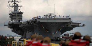 200809 N OS895 1017 Dwight D. Eisenhower Carrier Strike Group regresa a casa