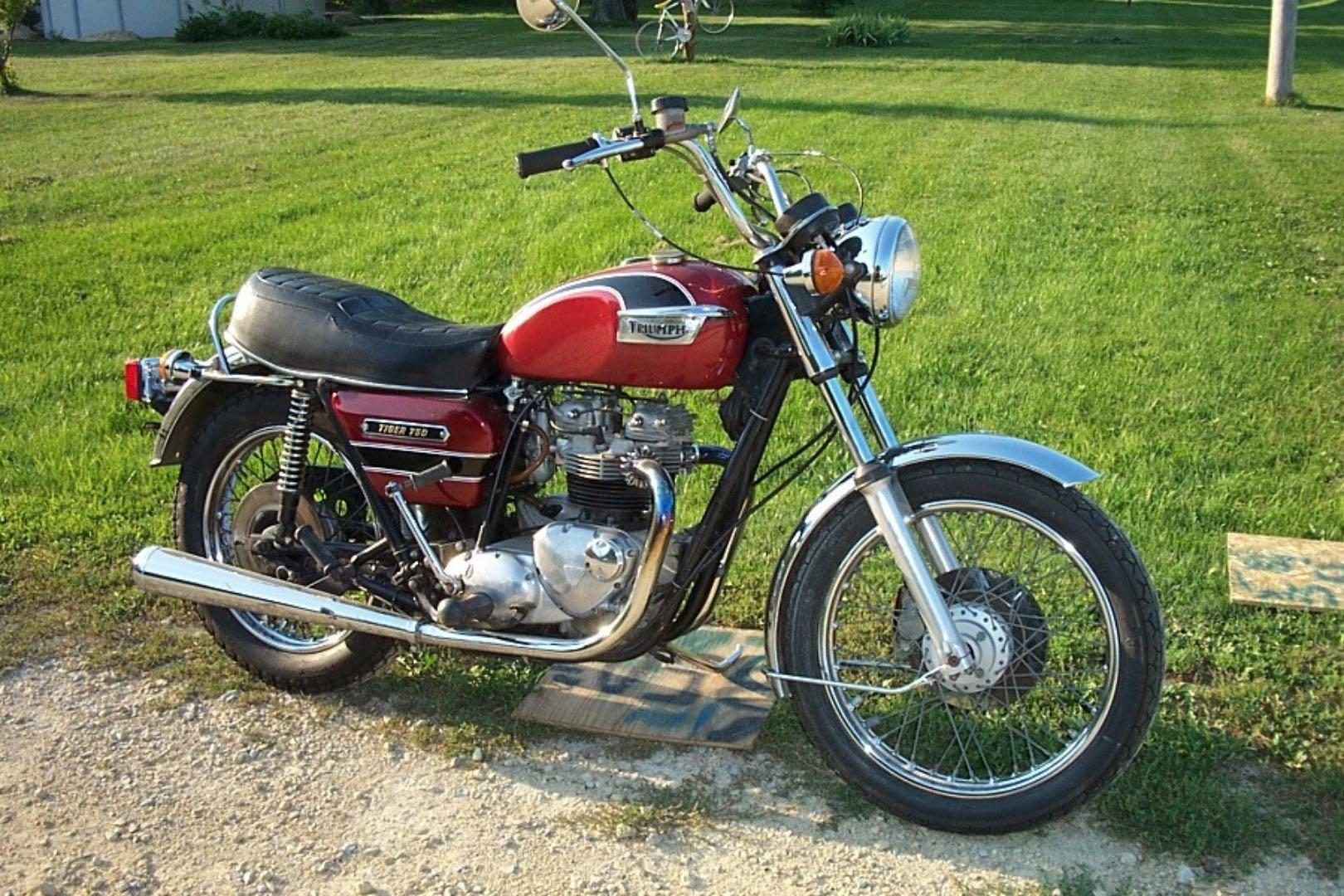 1978 TRIUMPH TIGER 750