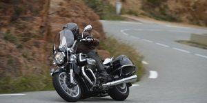 La California 1400 de Moto Guzzi en prueba.  Esta es la versión Touring.