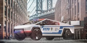 NYPD Cybertruck LeaseFetcher