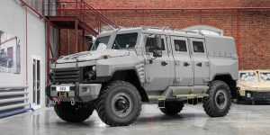 Rida Buran 4x4 Armored Personnel Carrier