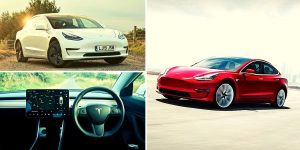 Tesla Model 3 Price Red White Interior best value for your money
