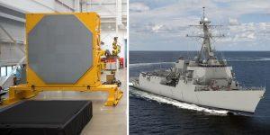 spy 6 v1 uss lucas Radar SPY-6 de vanguardia listo para el futuro destructor USS Lucas