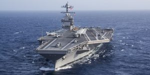 uss gerald r ford air wing operation