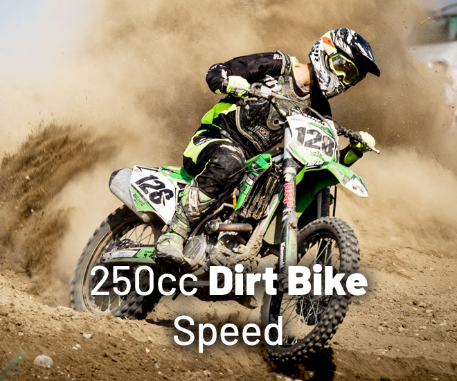 1609744744 250cc dirt bike speed ¿Qué tan rápido va una moto de cross de 250 cc?