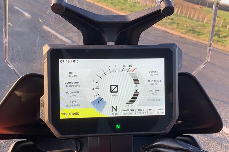 Revisión de la KTM 1290 Super Duke 2019