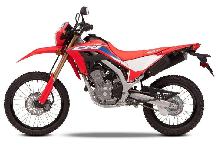2021 Honda CRF300L: precio y MSRP