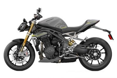 Speed Triple 1200 RS 2021 altura del asiento