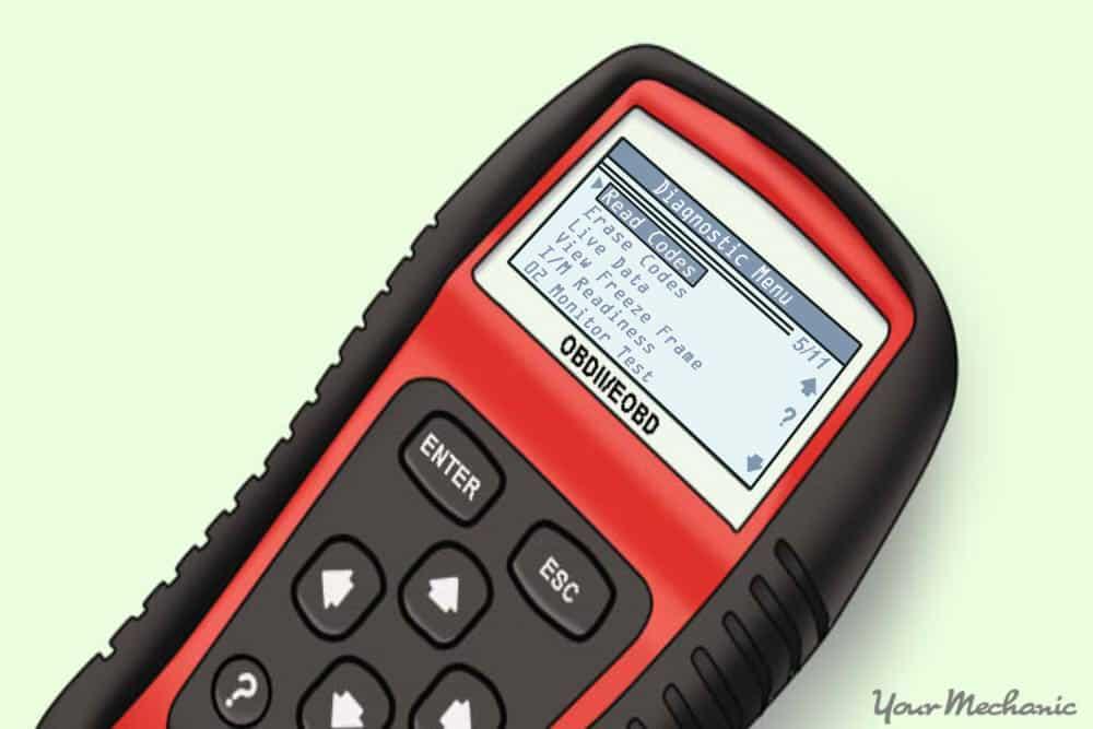obd scanner shown