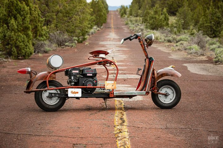 cushman scooters Pocket Patina: Colby Thompson y sus scooters Cushman