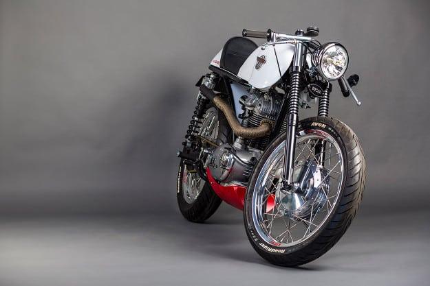 Café Canadiano: reingeniería de la Ducati 350 Sebring