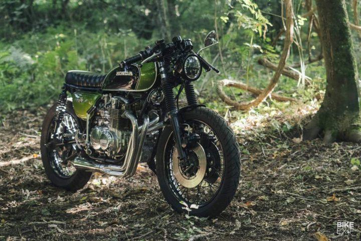 honda cb500 four brat No demasiado tarde: una Honda CB500 Four estilo Brat