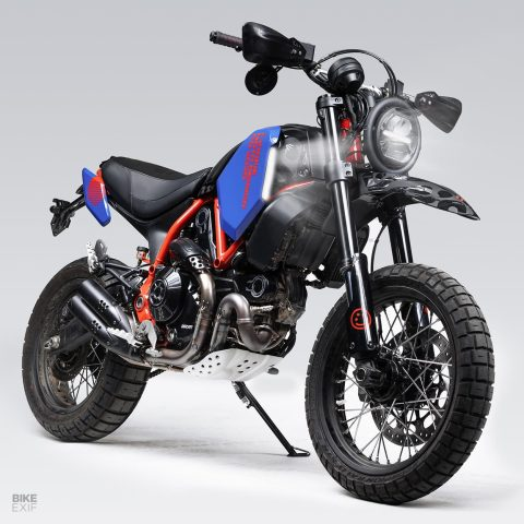 Ducati Scrambler Desert Sled de Hookie Co.