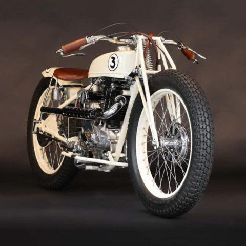 El Koehler-Escoffier Moto-Ball Special, diseñado para el deporte del polo en motocicleta en la década de 1930.