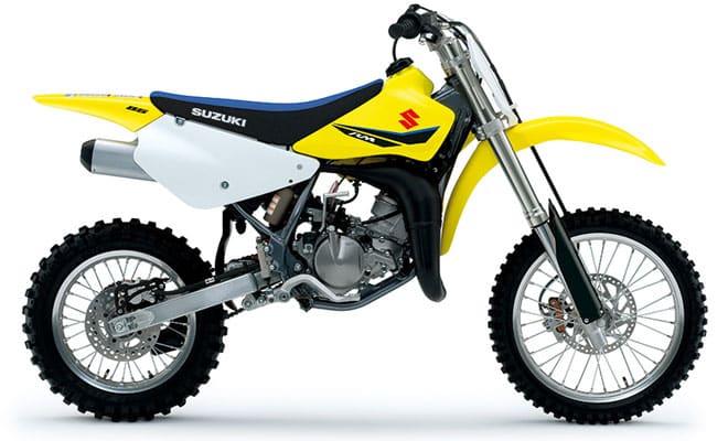 suzuki rm85 Las 5 mejores motos de cross para principiantes