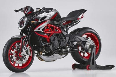 2021 MV Agusta Dragster RR SCS RC first look limited edition urban sport motorcycle 21 2021 MV Agusta Dragster RR SCS RC Primer vistazo (9 datos importantes)