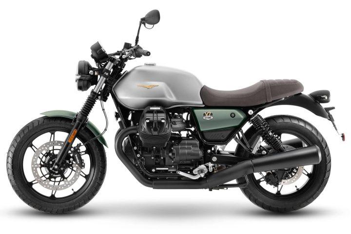 2021 Moto Guzzi V7 Stone 100 aniversario: precio de venta sugerido por el fabricante