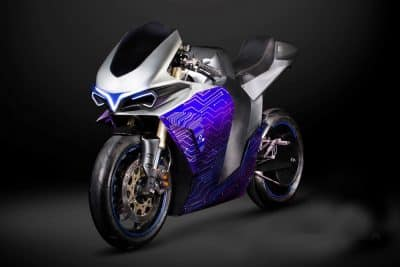 Emula Concept First Look 2electron McFly electric motorcycle 2
