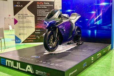 Emula Concept First Look 2electron McFly electric motorcycle 5
