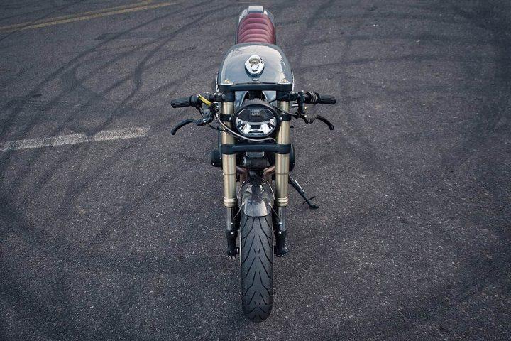 Kawasaki KZ750 de STG Tracker