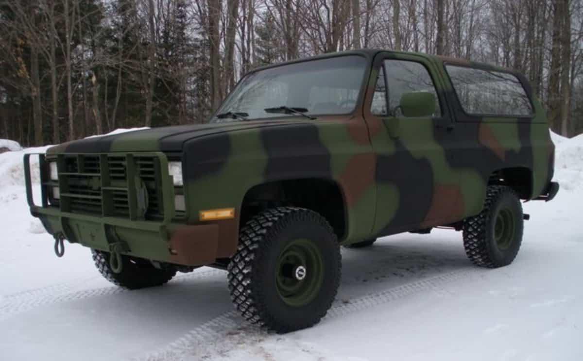 1616162981 m1009 El M1009 CUCV: el vehículo soñado por un superviviente varonil, ecológico, rechazado por los militares - AxleAddict