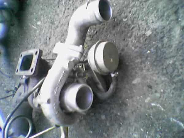 El turbo de cerámica RB20DET original