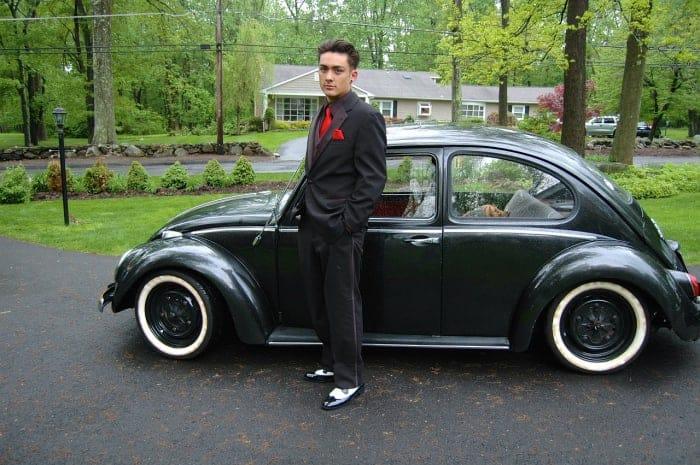 Escarabajo VW clásico