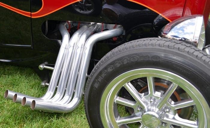 Para un vehículo de alto rendimiento, los revestimientos cerámicos pueden ayudar a aumentar la potencia.
