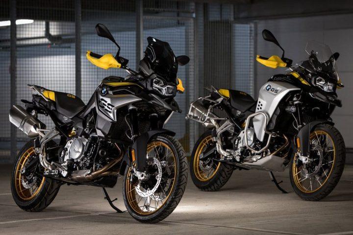 2021 BMW F850GS 40 years edition adventure motorycle Marruecos 2020. Ventas de vehículos de dos ruedas suben moderadamente